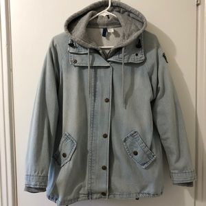Light Blue Jeans Coat